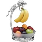 Arthur Court Serveware, Monkey Banana Holder and Fruit Bowl