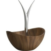 Nambe MT0392 Wood and Silver Fruit Tree Bowl