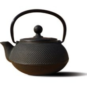 Teapot with Infuser, 590ml, Cast Iron, Matte Black