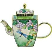 Kelvin Chen Enamelled Miniature Tea Pot- Dragonfly