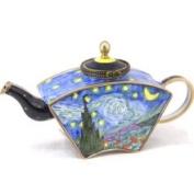 Kelvin Chen Enamelled Miniature Tea Pot - Starry Night