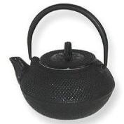 Japanese Tetsubin Cast Iron 1180ml Black Hobnail Teapot