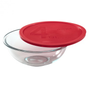 Pyrex Smart Essentials Mixing Bowl with Lid, 3.8l