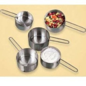 American Metalcraft MCW12 1/2 Cup Stainless Steel Measuring Cup