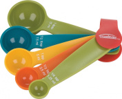 Trudeau 0995887 5 Piece Measuring Spoon Set