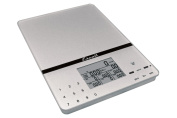 Escali Cesto Portable Nutritional Tracker Scale - Silver