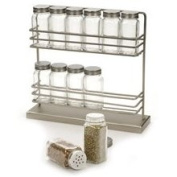 Freestanding Spice Rack with Spice Jars by RSVP Sqr12
