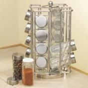 RSVP RSR-16 Carousel Spice Rack, 16 Bottle