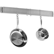 Cuisinart Wall Pot Rack - Brushed Stainless Steel