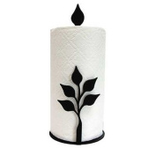 Village Wrought Iron PT-C-76 Paper Towel Stand - Leaf