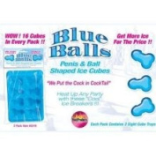 Hott Products Blue Balls Penis Ice Cube Tray