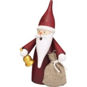 Seiffener Volkskunst Smoker Christmas Gnome - 16Cm / 6 Inch