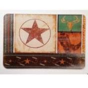 Evergreen Enterprises 3CB3784 Cowboy Up Glass Cutting Board