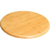 Summit Lazy Susan Wooden Bamboo Chopping Cutting Board Kitchenware Cooking