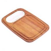 Franke PR-40C Wood Cutting Board w/ Colander