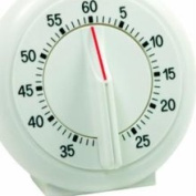 Norpro 1470 Siixty Minute Single Ring Timer, White