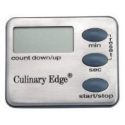 Culinary Edge Stainless Steel Digital Kitchen Timer CE43006