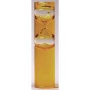 G.W. Schleidt STC9003-Y 3 Min Yellow Liquid Glass Gravity Timer - 15.2cm .