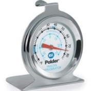 Polder THM-560N Fridge / Freezer Thermometer in Stainless Steel