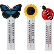 Headwind Consumer Products 840-0024 25.4cm . Deco Thermometer withSunflower