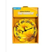Headwind Consumer Products 840-0008 20.3cm . Dial Thermometer with Sunflowers