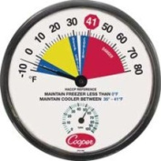 Cooper 2121598 Wall Thermometer 30.5cm  -10 to 80 F