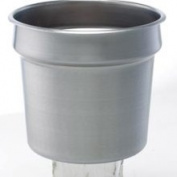 San Jamar P417 Frontline&Trade; Inset Container, 6.6l Round