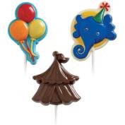 Wilton 489592 Lollipop Mold-Big Top 3 Cavities - 3 Designs
