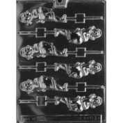 Cybrtrayd Pregnant Lady Lolly Baby Candy Mould Chocolate