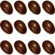 Cabrellon ME212 Chocolate Mould Half-Egg 5.1cm ; 12 Cavities. Buy 2 Moulds to Make Whole Eggs