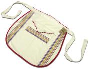 Aunt Martha's VSWA Vintage Stripe Waist Apron 71.1cm X66cm Multi Stripe