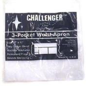 Challenger Ea 28 x 32 White Bistro Apron