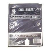 Challenger Black Vinyl Dishwashing Apron 866A-BLK