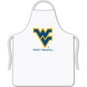 West Virginia Mountaineers Chef's BBQ Kitchen Apron