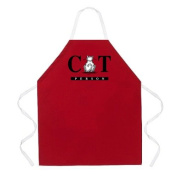 Attitude Aprons by L.A. Imprints Cat Person Apron in Red 2296