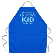 Attitude Aprons by L.A. Imprints Really Cool Kid Apron in Royal 2519