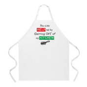 L.A. Imprints 2021 Get Out of My Kitchen Cooking Apron