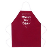 L. A. Imprints 2052 Where s My Drink. Apron