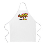 L. A. Imprints 2026 Is it Hot in Here. Cooking Apron