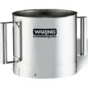 Waring FP40SSB Stainless Steel Batch Bowl Only with 2 Handle