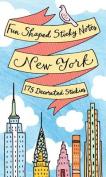 New York City Shaped Sticky Notes