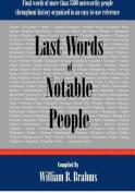 Last Words of Notable People