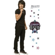 Blue Mountain Wallcoverings 31720501 Camp Rock Life Size Self-stick...