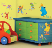 RoomMates 205988 Sesame Street Peel and Stick Wall Decals