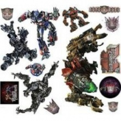 Hasbro Transformers Fallen Wall Decals - Revenge 27pc Wall Accent Stickers
