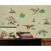 RoomMates rmk1882scs Dinosaur Peel Stick Wall Decals