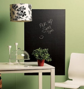 Wallies Wallcoverings 16020 Big Peel & Stick Chalkboard Slate Gray