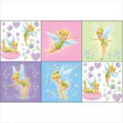 Disney Tinkerbell Wall Accents - 44pc Tinkerbell Wall Art Stick-Ups
