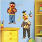 RoomMates Bert & Ernie Giant Wall Decal