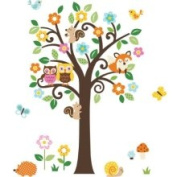 CHERRYCREEK Decals 3895867 Giant Peel Stick Nursery Decal Forest